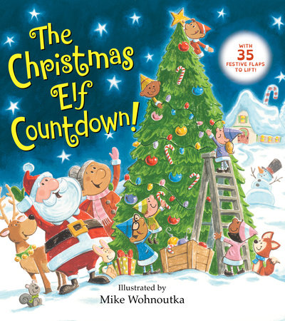 Image result for The Christmas Elf Countdown by Random House