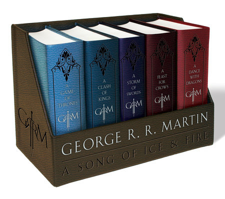 George R. R. Martin's A Game of Thrones Leather-Cloth Boxed Set (Song of Ice andFire Series) by George R. R. Martin