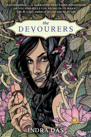 The cover of the book The Devourers