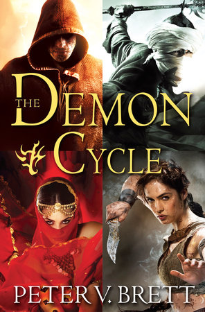 The Demon Cycle 4-Book Bundle by Peter V. Brett