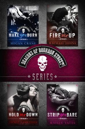 The Deacons of Bourbon Street Series 4-Book Bundle by Megan Crane, Rachael Johns, Jackie Ashenden and Maisey Yates