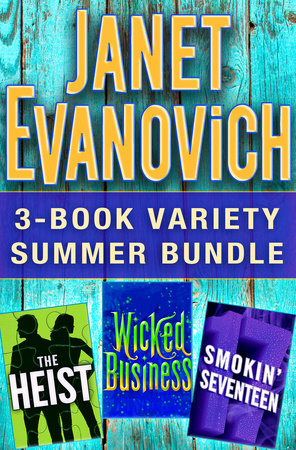 Janet Evanovich 3-Book Variety Summer Bundle by Janet Evanovich and Lee Goldberg
