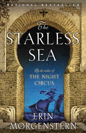 The cover of the book The Starless Sea