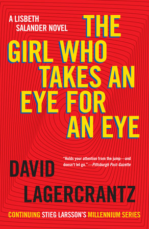 The cover of the book The Girl Who Takes an Eye for an Eye