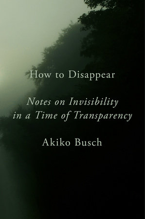 The cover of the book How to Disappear