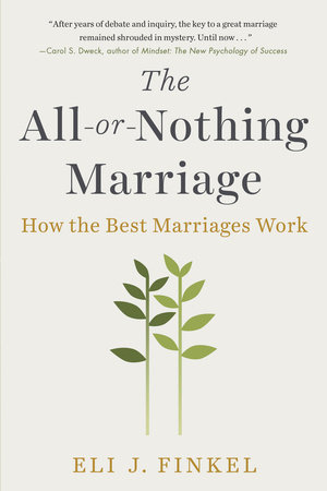 The cover of the book The All-or-Nothing Marriage