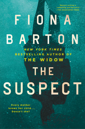 The cover of the book The Suspect