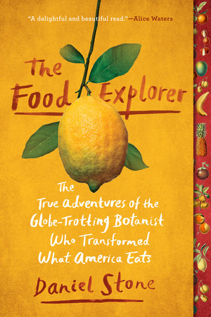 The cover of the book The Food Explorer