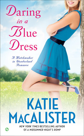 Daring In a Blue Dress by Katie Macalister