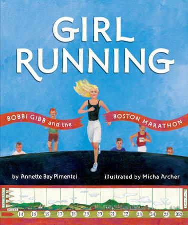 Girl Running by Annette Bay Pimentel