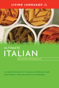 Ultimate Italian Beginner-Intermediate (Coursebook)