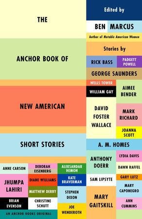 The Anchor Book of New American Short Stories Book Cover Picture