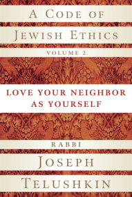 A Code of Jewish Ethics, Volume 2