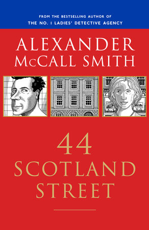The cover of the book 44 Scotland Street
