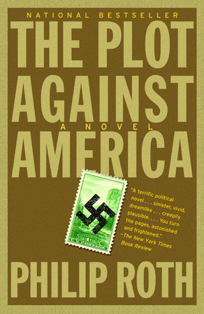 The cover of the book The Plot Against America