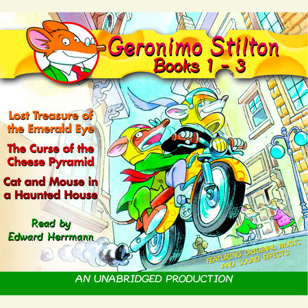 Geronimo Stilton: Books 1-3 by Geronimo Stilton