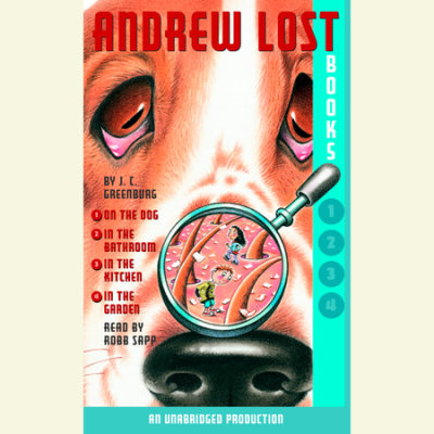 Andrew Lost: Books 1-4 cover