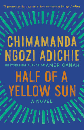 The cover of the book Half of a Yellow Sun