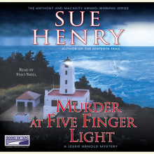 Murder at Five Finger Light Cover