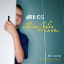 Miss Julia Speaks Her Mind Cover