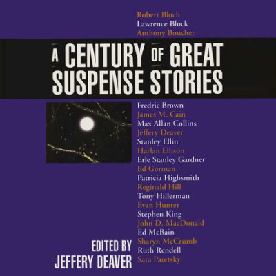 A Century of Great Suspense Stories cover
