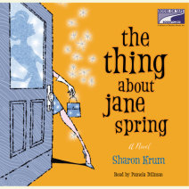 The Thing About Jane Spring Cover