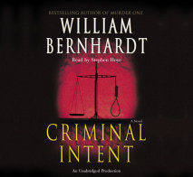 Criminal Intent Cover