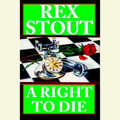 A Right to Die cover