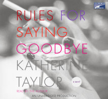 Rules for Saying Goodbye Cover