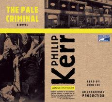 The Pale Criminal Cover