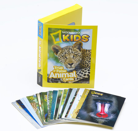 True or False Animal Cards by National Geographic