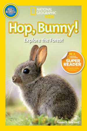 National Geographic Readers: Hop, Bunny!