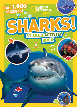 National Geographic Kids Sharks Sticker Activity Book by National Geographic Kids