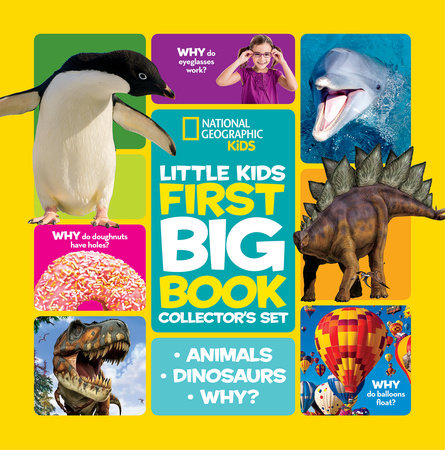 National Geographic Little Kids First Big Book Collector's Set