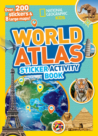 World Atlas Sticker Activity Book