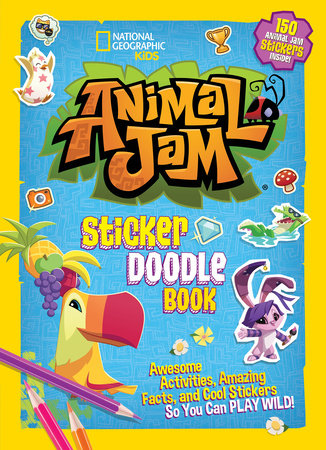 Animal Jam Sticker Doodle Book by National Geographic Kids