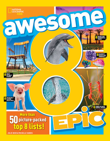 Awesome 8 Epic by Michelle Harris and Julie Beer