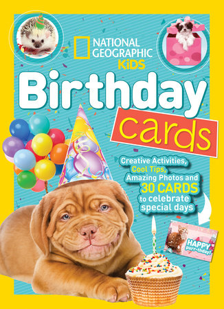 National Geographic Kids Birthday Cards By Nancy Honovich