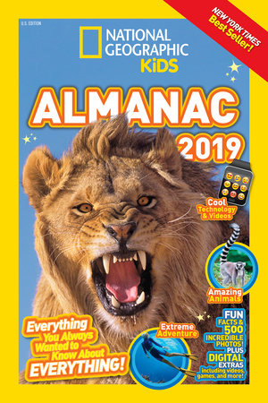 National Geographic Kids Almanac 2019 by National Geographic, Kids