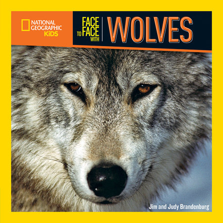 Face to Face with Wolves by Jim and Judy Brandenburg