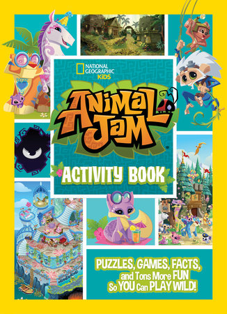 Animal Jam Activity Book by National Geographic Kids, WildWorks Inc ...