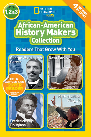 National Geographic Readers: African-American History Makers by Kitson Jazynka and Barbara Kramer