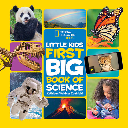 National Geographic Little Kids First Big Book of Science by Kathleen Weidner Zoehfeld