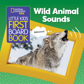 National Geographic Kids Little Kids First Board Book: Wild Animal Sounds