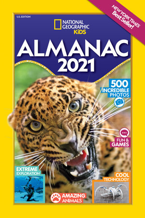Best Kids Books 2021 National Geographic Kids Almanac 2021, U.S. Edition by National