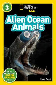 National Geographic Reader Alien Ocean Animals (L3)