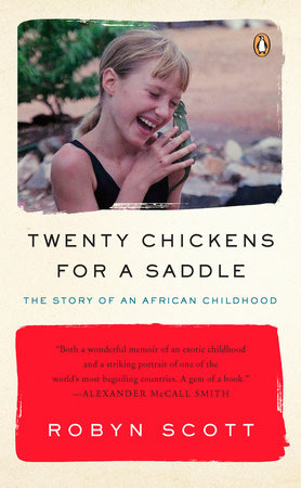 Twenty Chickens for a Saddle cover