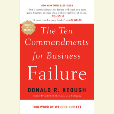 The Ten Commandments for Business Failure cover