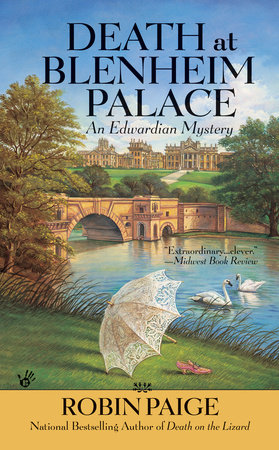 Death at Blenheim Palace by Robin Paige