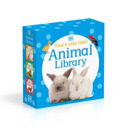 Touch and Feel: Animal Library by DK Publishing